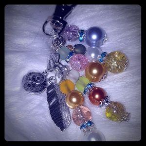 Gorgeous Handmade Keychain/Purse Charm